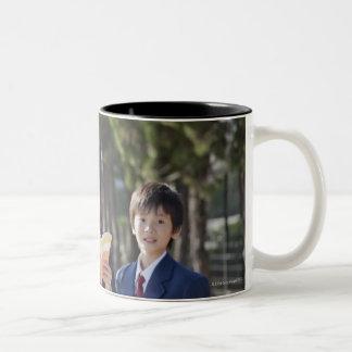 Tokyo, Japan Two-Tone Coffee Mug