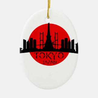 Tokyo Landmark Christmas Ornament