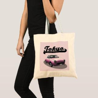 Tokyo Nouvelle Vague Pink Nissan Figaro Tote Bag