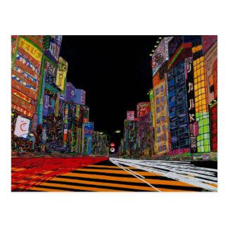 """""""Tokyo"""" Post Card"""