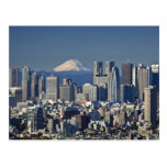 Tokyo, Shinjuku District Skyline, Mount Fuji,