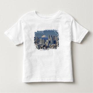 Tokyo, Shinjuku District Skyline, Mount Fuji, Tee Shirts