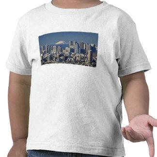 Tokyo, Shinjuku District Skyline, Mount Fuji, T-shirts