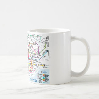 Tokyo Subway Map Mug
