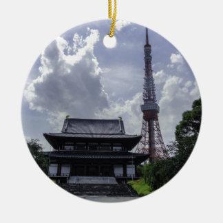 Tokyo Tower Christmas Ornament