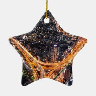 Tokyo Traffic Ceramic Star Decoration