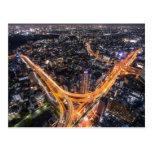 Tokyo Traffic Postcard
