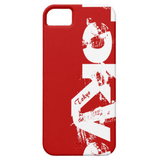 Tokyo - Young Style Urban Worn Red And White iPhone 5 Cover
