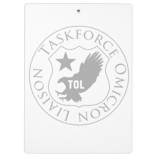 TOL shield (2), gray on white clipboard