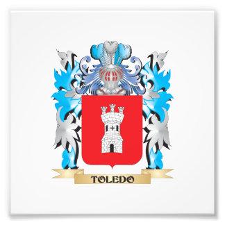 Toledo Coat of Arms - Family Crest Photo Art