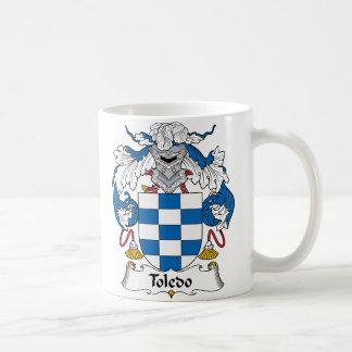Toledo Family Crest Coffee Mug