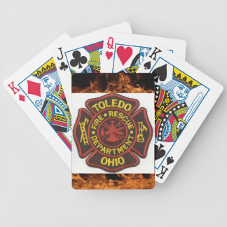 Toledo Fire Department Playing Cards