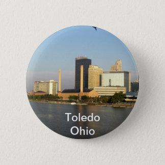 Toledo Ohio City 6 Cm Round Badge