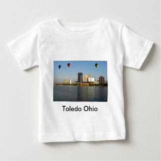 Toledo Ohio City Baby T-Shirt