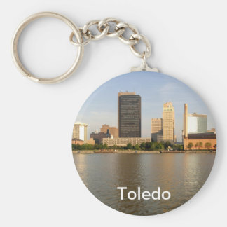 Toledo Ohio City Key Ring