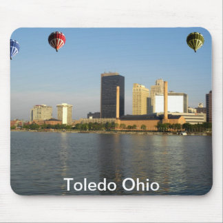 Toledo Ohio City Mouse Mat