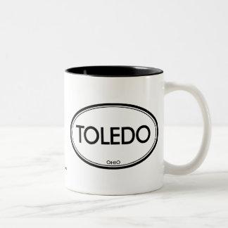 Toledo, Ohio Two-Tone Mug