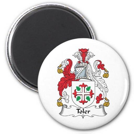 Toler Family Crest Magnet