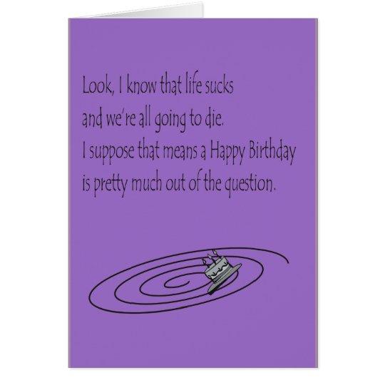 Tolerable Birthday Card