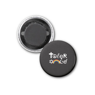 TOLERANCE 3 CM ROUND MAGNET