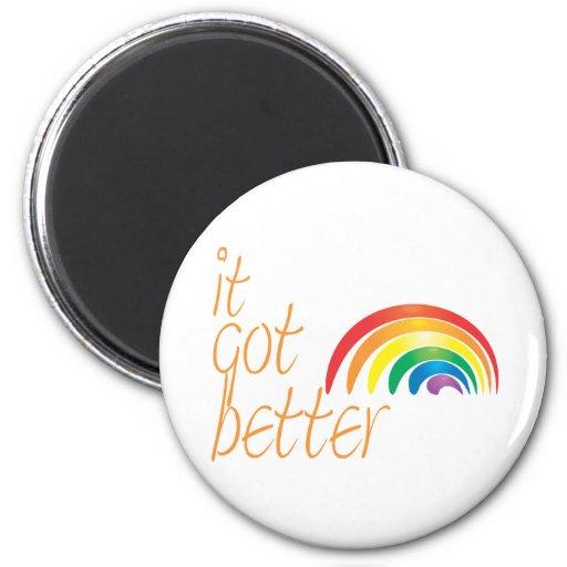 Tolerance Gay Pride Rainbow Fridge Magnet