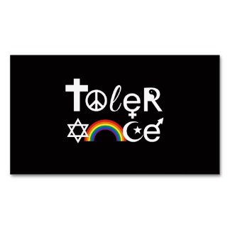 TOLERANCE MAGNETIC BUSINESS CARDS