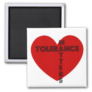 Tolerance Matters Square Magnet