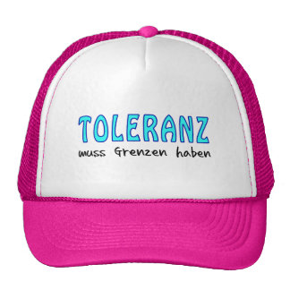 Tolerance must have borders cap