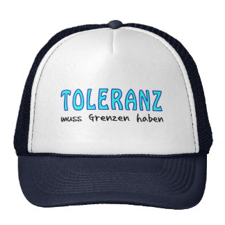 Tolerance must have borders mesh hats