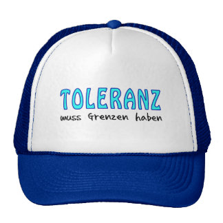 Tolerance must have borders mesh hat