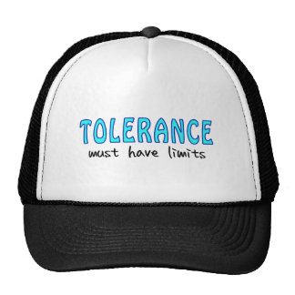 Tolerance must have of limit hats