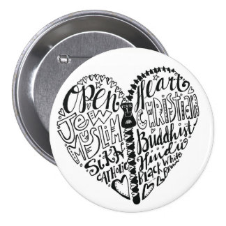 Tolerance of all People 7.5 Cm Round Badge