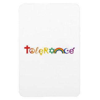 TOLERANCE PRIDE -.png Vinyl Magnet