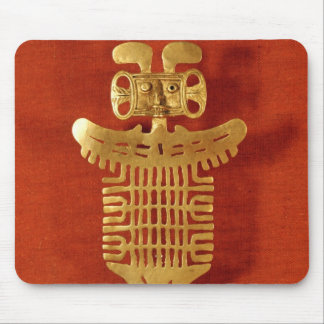 Tolima ornament in the form of a human-headed mouse mat