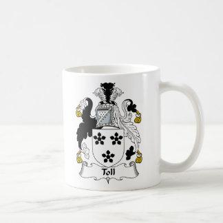 Toll Family Crest Coffee Mug