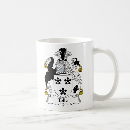 Tolle Family Crest Coffee Mugs