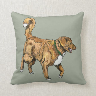 Toller Double sided pillow