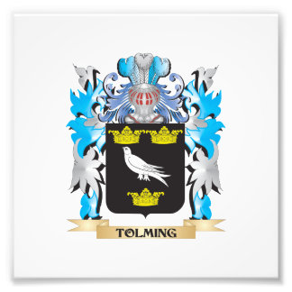 Tolming Coat of Arms - Family Crest Art Photo
