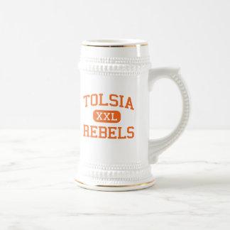 Tolsia - Rebels - High - Fort Gay West Virginia Beer Steins