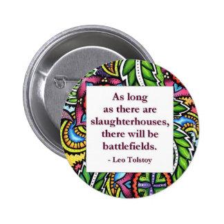 Tolstoy Quote 6 Cm Round Badge