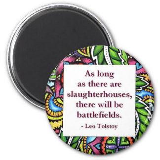 Tolstoy Quote Magnet