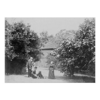 Tolstoy with Wife and Son - Large Print