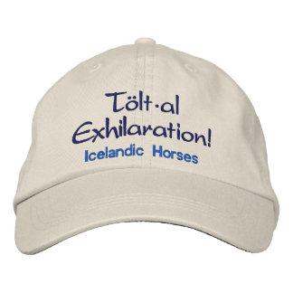 Tolt * al Exhilaration Icelandic Horses Embroidered Cap