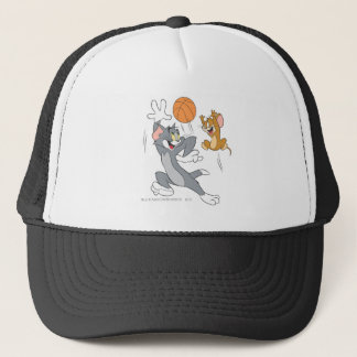 Tom and Jerry Basketball 1 Trucker Hat