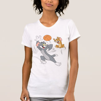 Tom and Jerry Basketball 1 T Shirts