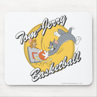 Tom and Jerry Basketball 2 Mouse Pad