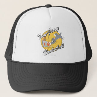 Tom and Jerry Basketball 2 Trucker Hat