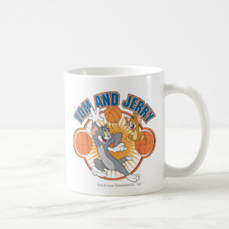 Tom and Jerry Basketball 4 Coffee Mug