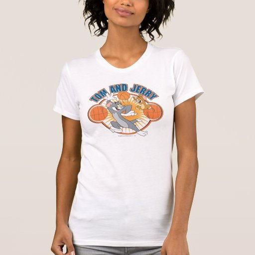 Tom and Jerry Basketball 4 Shirts