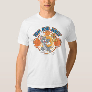 Tom and Jerry Basketball 4 Tshirt